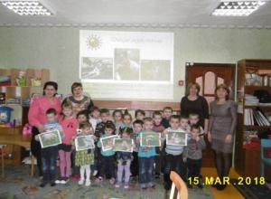 Интересную познавательную программу провели для воспитанников детского сада «Улыбка» в станице Вольно-Донской