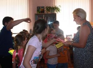 Как не стать жертвой огня, дети узнали в библиотеке