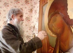 Календарь Морозовска: 15 января 2011 года умер старообрядческий иконописец Симеон Быкадоров