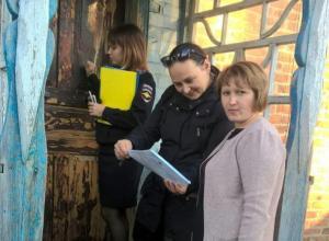 Комиссия по делам несовершеннолетних Морозовска проводила профилактические выезды даже в новогодние праздники