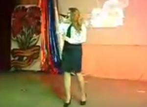 Письмо в редакцию: Четыре номера из концертной программы в Доме офицеров в Морозовске попали на видео