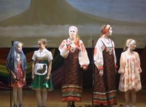 Видео выступления лицея на фестивале национальных культур в Морозовске появилось в Сети