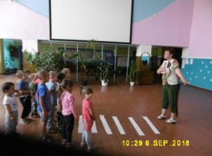 Беседу «Красный, желтый, зеленый» провели с детьми в Доме культуры станицы Вольно-Донской