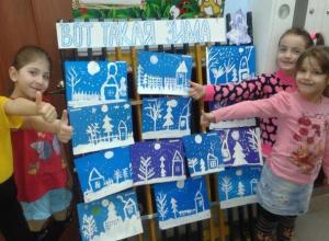 Ребята из детского сада Вишенка позвали к себе Деда Мороза