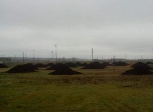 Для будущего стадиона «Каменки» в Морозовске завезли землю
