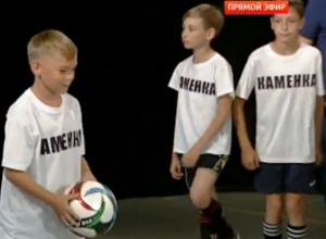Главную проблему футбола Морозовска обсудили в прямом эфире передачи «Спортклуб с Мариной Вангели»