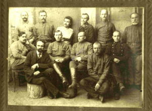 Ревком станции Морозовская в 1917 году располагался в здании железнодорожного вокзала
