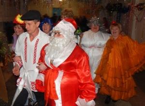 Новогодние праздники в хуторе Парамонов прошли весело