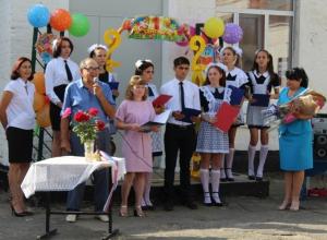 Ново-Павловская средняя школа 1 сентября отметила своё пятидесятилетие