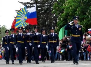 Появились фото и видео парада-2017 в Морозовске