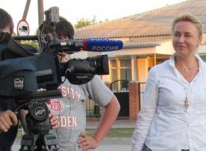 Телевизионщики сняли новый сюжет о похищенном в Морозовске мальчике