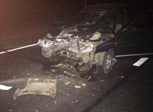 Смертельное ДТП: в Морозовском районе легковой автомобиль влетел в стоящий на светофоре КАМаз