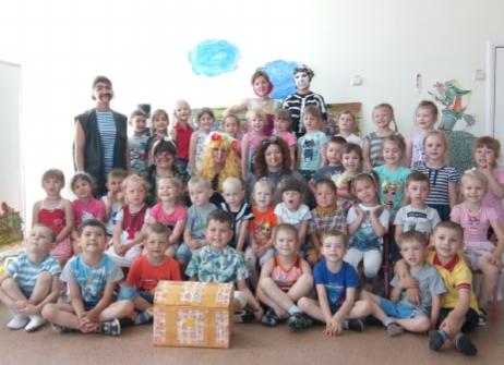 «Как ребята спасали сказку»: в детском саду Морозовска устроили игру с приключениями