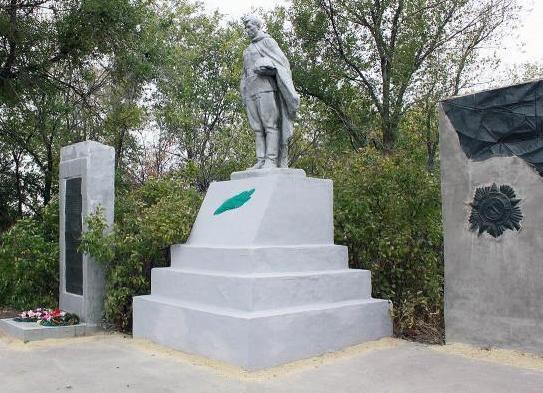 Кто похоронен у мемориала в центре хутора Широко-Атамановский