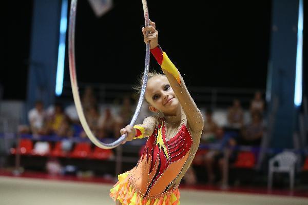 Свой победный номер гимнастки из Морозовска создали за три часа
