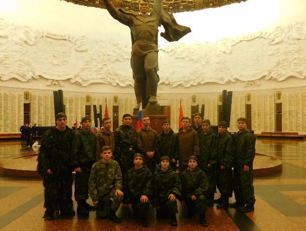 Кадеты Морозовска побывали на слете казачьих корпусов в Москве
