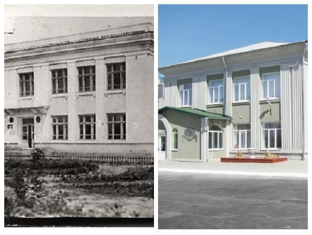 Прежде и теперь: Гитлеровцы в окуппацию пытались организовать «гимназию» на базе школы имени Ленина