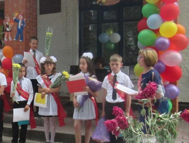 Праздник «Прощания с начальной школой» прошел для учеников Ново-Павловской школы