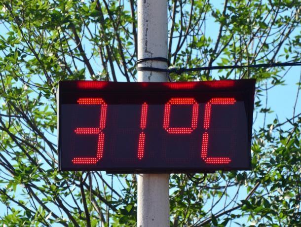 Синоптики обещают морозовчанам до +31 градуса в тени