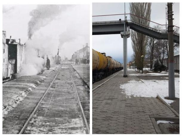 Прежде и теперь: Железнодорожная станция Морозовская всегда играла важную стратегическую роль