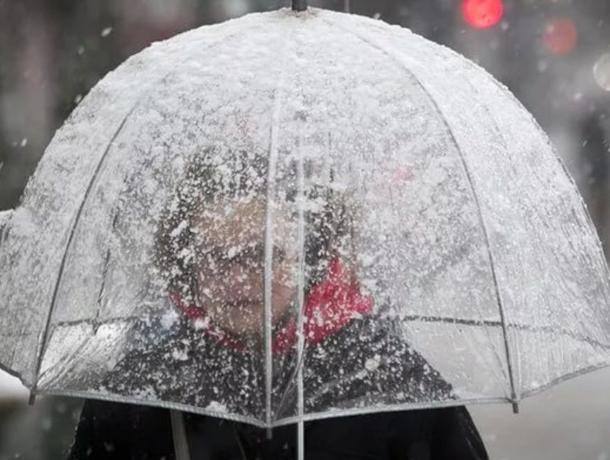6 декабря в Морозовске ожидается сильный снегопад