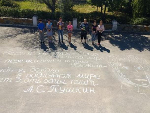 Международную акцию «Пушкин в городе» провели и в хуторе Старо-Петровском