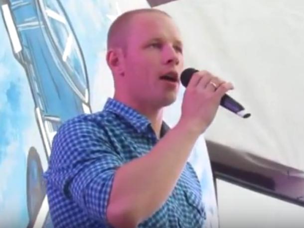 Появились видео концерта ко Дню ВВС в Морозовске