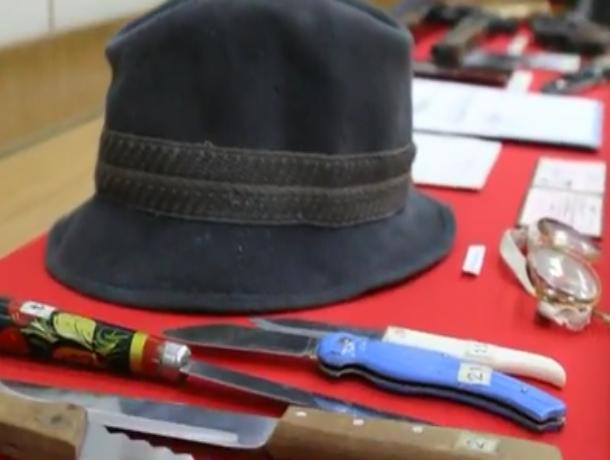 Донская милиция обнародовала ролик сличными вещами Чикатило