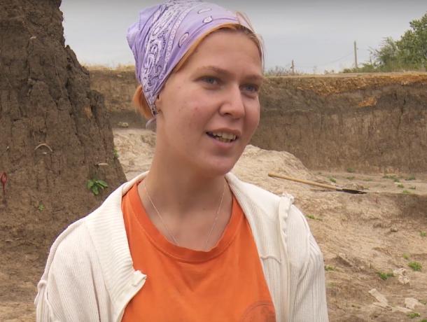Радости и трудности археологии назвала работающая в Танаисе морозовчанка