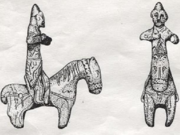 Уникальная бронзовая статуэтка была найдена в песчаном карьере Морозовска