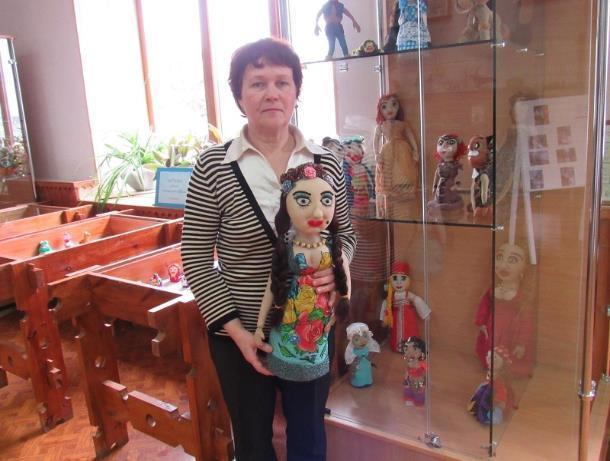 Выставка самодельных игрушек открыласть в краеведческом музее Морозовска