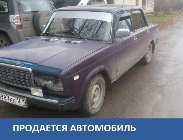 Продается ВАЗ 2107 газ-бензин