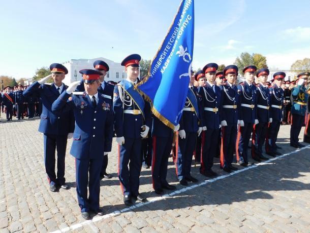 Воспитанники кадетского корпуса Морозовска приняли участие в большом параде казачьих войск