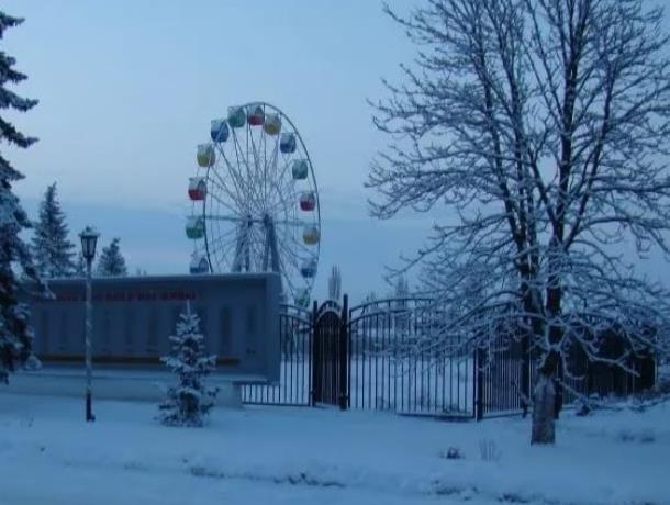 243 голоса отдали морозовчане за благоустройство «Городского парка»