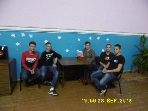 Беседу «Здоровый образ жизни, путь к долголетию» провели со школьниками в станице Вольно-Донской