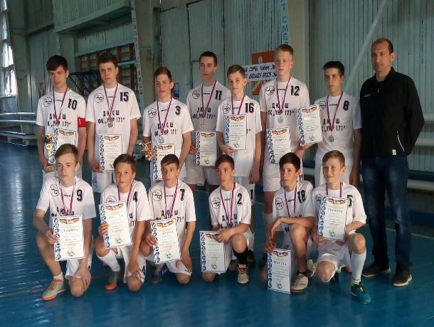 Команда из Морозовска заняла призовое место в Первенстве Ростовской области по мини-футболу