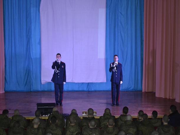 Концерт в честь 29-й годовщины вывода советских войск из Афганистана прошел в Доме офицеров Морозовска
