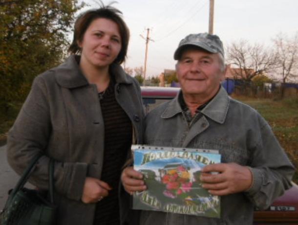Более 40 лет за баранкой: в станице Вольно-Донской чествовали автомобилиста с большой буквы