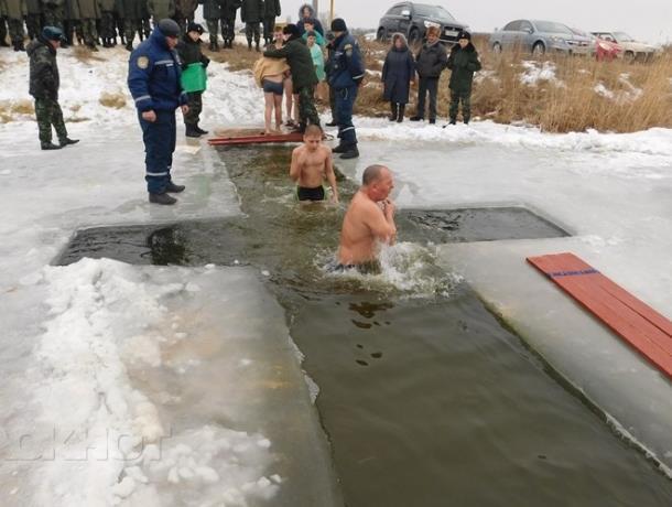 Крещенскую прорубь организуют и освятят на городском пляже Морозовска