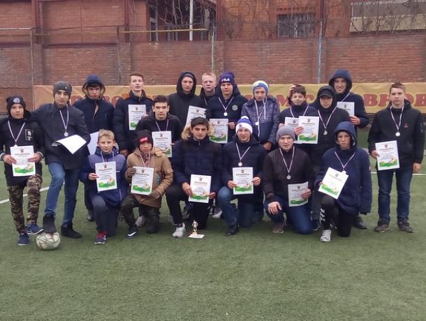 Футболисты из Морозовска завоевали в Волгодонске «серебро»