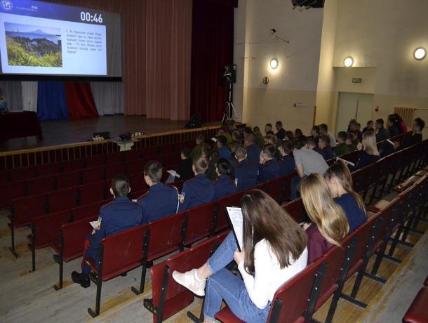 Количество желающих принять участие в Международной акции в Морозовске выросло в три раза