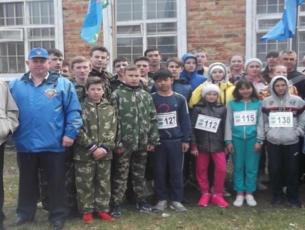 Морозовчане приняли участие в легкоатлетическом пробеге «Слава воинскому мужеству»
