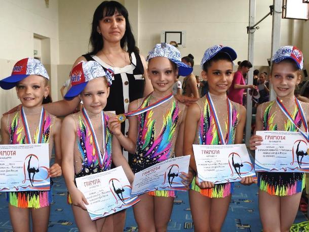 От Владикавказа и Сочи до Москвы - гимнастки Морозовска за полгода совершили множество триумфальных поездок