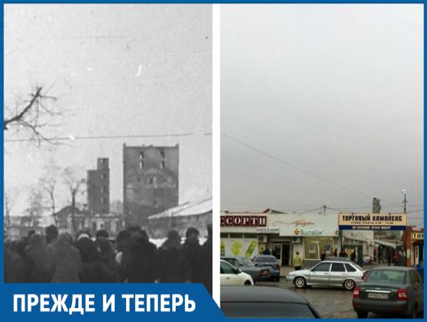 Центральный рынок Морозовска и ранее был многолюден