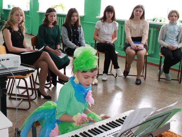 «ЛЕДИ-2018» в Вербочанской школе стала самая юная участница