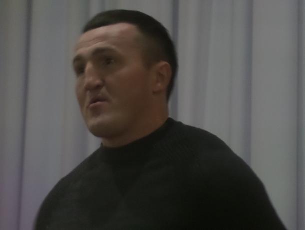 Чемпион мира по боксу на встрече с морозовчанами показал себя открытым и доброжелательным человеком