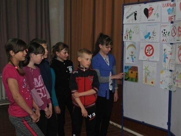 Письмо в редакцию: Дети в Вишневке нарисовали рисунки «Я против наркотиков!»