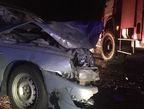 Лобовое столкновение на трассе Морозовск-Цимлянск-Волгодонск: водитель ВАЗ-21150 скончался в больнице