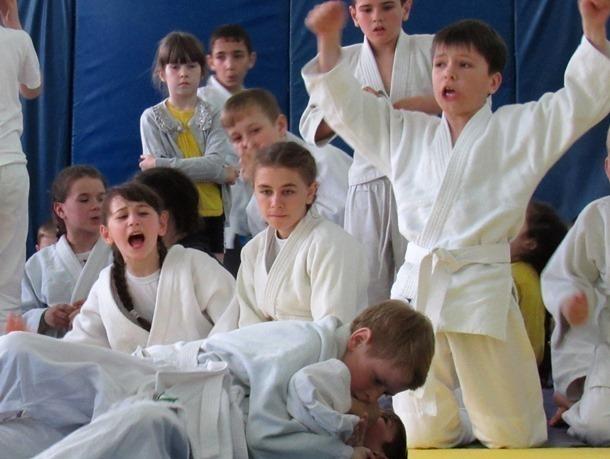 Фоторепортаж: На соревнованиях дзюдо в Морозовске эмоции игроков и болельщиков зашкаливали