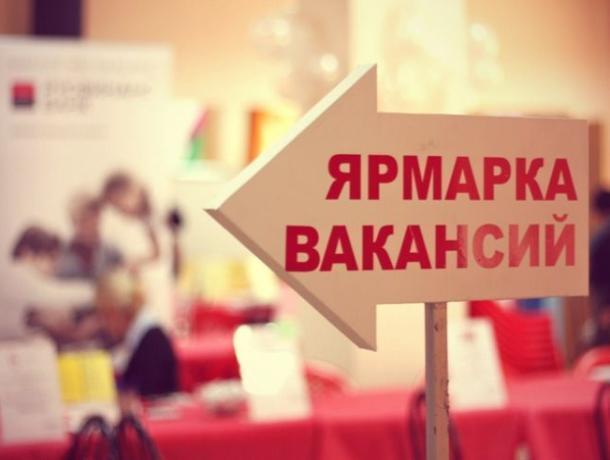 Ярмарку вакансий провели в центре занятости перед открытием нового магазина в Морозовске
